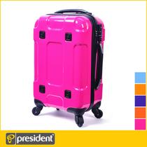 出口president凌秀PAE18纯色拉杆箱旅行箱登机箱19寸21寸ABS多色 价格:310.00