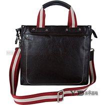 顶级牛皮男包 新款横款方形商务时尚中型男款手提斜挂包电脑包 价格:838.00