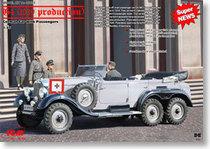 天地模型 ICM 35531 1/35 奔驰G4德国军官行政用车(1939年) 价格:138.00