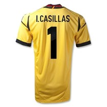 Top thai quality,Spain goalkeeper 2012/13,I.CASILLAS,REINA 价格:75.00