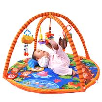 包邮正品 拉拉布书宝宝爬行垫婴儿环保地垫支架游戏毯 猴子捞月 价格:248.00