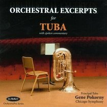 Orchestral Excerpts for Tuba【大号CD】 价格:15.00