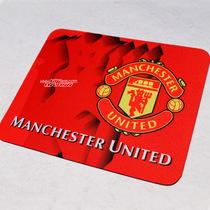 球迷用品 英超曼联队标软面鼠标垫 布面鼠标垫 红魔曼联鼠标垫 价格:5.90