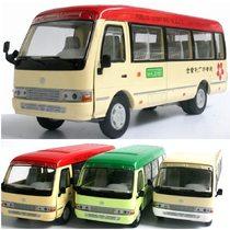 五款包邮 丰田柯斯达 客车 香港 巴士 公共汽车 公交车 合金车模 价格:49.99