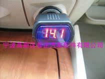 迷你车载电压计/汽车、摩托车电压表/电瓶电压监测仪 12V 价格:15.00