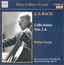 NAXOS:Pablo Casals《巴赫无伴奏大提琴》Bach Cello Suites2CD 价格:30.00