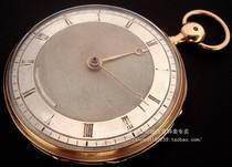 """1810年产""""宝玑""""18K玫瑰金实金超大两问怀表 价格:60000.00"""