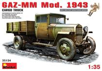 天地模型 MiniArt  35134 1/35 GAZ-MM.国防部1943 货运卡车 价格:160.00