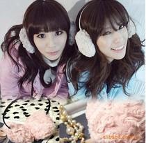 满29包邮 时尚毛绒小绵羊手感 玫瑰绒耳套 甜美暖暖绒毛耳罩 0559 价格:3.50