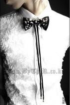 暗潮byther原版 个性朋克表演哥特式舞台立体绣花罕见款长袖衬衣 价格:158.00