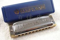 德国和莱 HOHNER  BLUES HARP 十孔口琴,10孔布鲁斯口琴,配琴布 价格:170.00
