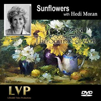 Sunflowers with Hedi Moran 油画教程花卉【向日葵】1DVD 价格:8.00