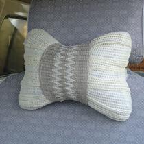 苏蒙特 夏季保健汽车头枕 100%纯亚麻+荞麦车用颈枕/头枕 一对装 价格:38.00