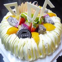 银川水果蛋糕 保定/北京/西宁/南昌/青岛/南京/泉州生日蛋糕配送 价格:79.00