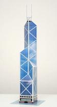 《纸玩王》世界大厦中银大厦 3D纸模型/DIY纸模玩具 价格:4.00