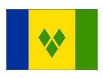 圣文森特和格林纳丁斯国旗 2号 240cm*160cm 价格:80.00