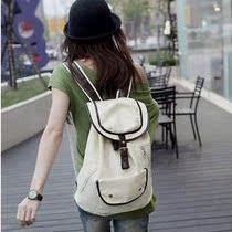 新品特价13年经典新款韩版潮包帆布包双肩包女包包包学院风学生 价格:39.00