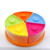 090{飞达三和}组合式小号旋转果盒水果盆(L1090) 价格:28.00