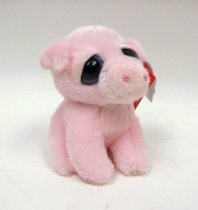 """梦幻般眼睛猪叫声猪6""""极光Dreamy Eyes Oink Pig 6"""" by Aurora 价格:148.00"""