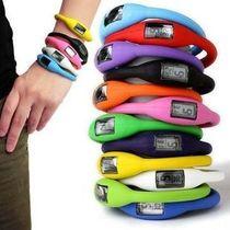 正品负离子表树脂果冻表电子表韩版时尚学生休闲腕表儿童手表外贸 价格:1.90