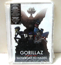 GORILLAZ---SLOEBOAT TO HADES (PHASE TWO )  DVD140 价格:25.00