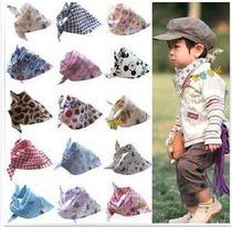 猿人头婴儿宝宝三角巾BAPE口水巾包头巾儿童围巾围嘴买四送一 价格:3.90