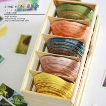 特价秒杀原创意日式韩式贝壳碗米饭碗陶瓷碗套装 景德镇日本餐具 价格:4.40