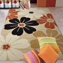 东升 客厅茶几地毯 书房卧室地毯地垫欧式简约弯头纱魅影地毯包邮 价格:172.92