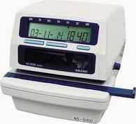 『安满能考勤机专卖店』安满能NS5100 印时钟、打卡钟、印时机 价格:3900.00