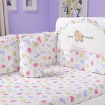 婴之贝婴儿床围七件套 纯棉婴儿床品套件婴儿床品多花色宝宝床品 价格:145.00