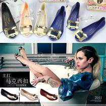 超范儿~梅丽莎(Melissa)马西扣果冻鞋鱼嘴平跟塑料胶鞋雨鞋凉鞋 价格:38.00
