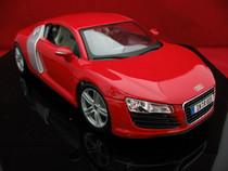 清仓特价 1:18 马莎图 奥迪AUDI R8 红色 合金 汽车模型 价格:175.00