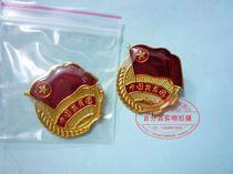 中国共青团员 团徽 滴塑 滴胶胸牌 胸章 徽章 胸扣 (别针扣) 价格:0.42
