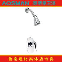 【澳斯曼卫浴 实体专卖】淋浴大花洒 纯铜淋浴龙头AS-2515C2 价格:828.00