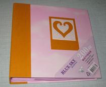 易事快像册6寸200张相册粉彩色纸芯可写留言影集特价相册黄色 价格:19.00