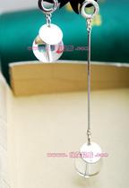 2012新款超大耳环店《雪之女王》成宥利仿水晶球耳环 价格:45.00