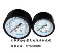 厂家直销 质量保证 气源处理器 压力表 Y40 1/8(现货) 价格:6.50