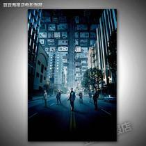 电影海报 盗梦空间奠基[F5531]装饰画客厅墙贴挂壁画莱昂纳多 价格:12.00