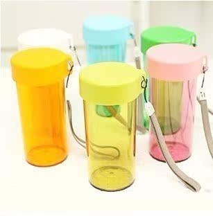 品高防漏密封水杯随心塑料杯 个性杯子 广告杯可批发定制LOGO 价格:2.45