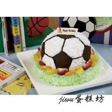 足球造型蛋糕 上海生日蛋糕 儿童蛋糕 足球创意