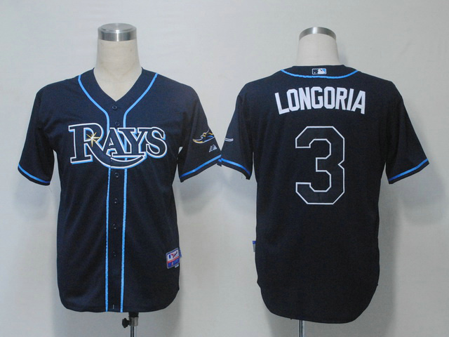 Спортивная одежда для бейсбола Great Wall MLB Tampa Bay Rays LONGORIA