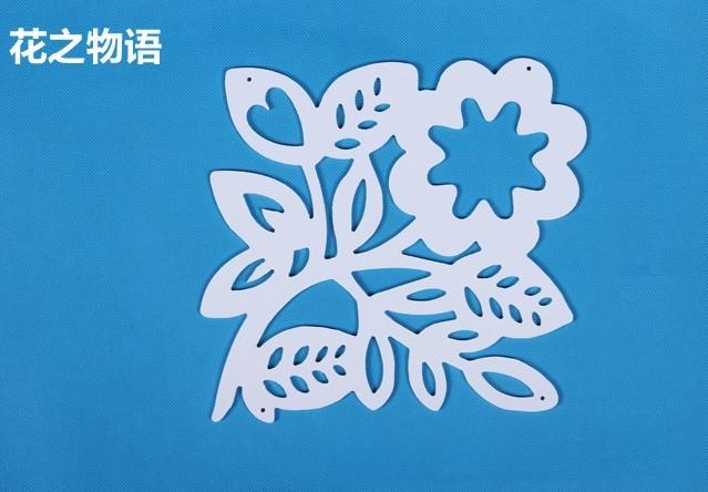Цвет: Цветы история 27 * 30 см