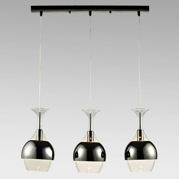 Цвет: Форма головы лампа 3 матовое черное стекло длина стельки [ ]
