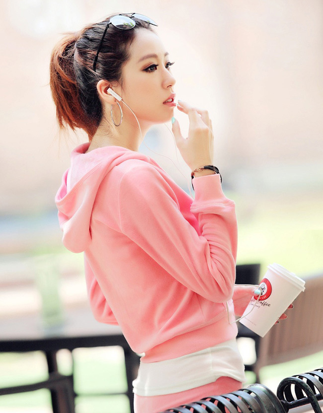 Цвет: Розовый (брюки без карманов)