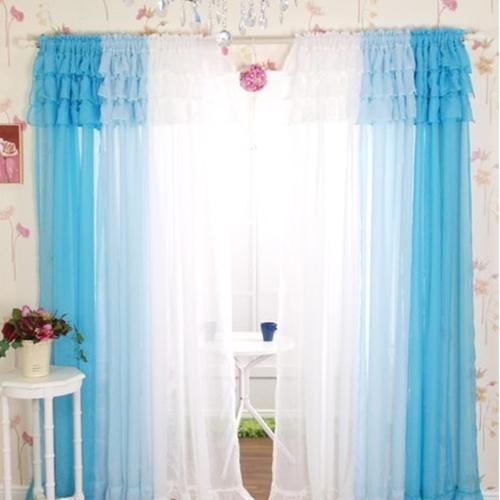 飘逸.夏季 半透明韩式窗帘 用她来装饰这个夏季的心情! - danxus - D'BLOG