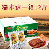 【天天特价】扬州宝应特产糯米藕12斤一整箱桂花蜜汁糯米莲藕糖藕