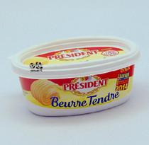 法国总统牌淡味涂抹黄油250g