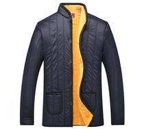 反季中老年男装羽绒棉衣冬装外套新款加厚棉服老人棉袄大码爸爸装