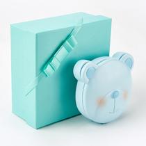 宝宝胎毛乳牙盒肚脐带保存收藏盒新生婴儿童牙齿收纳胎发纪念礼品