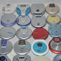 雷登便携式移动VCDCD随身听播放机支持MP3 英语光盘/碟胎教